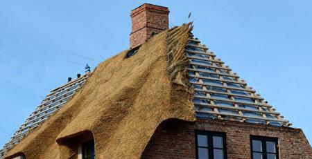 rieten dak en verzekering