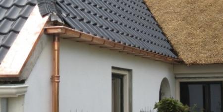 koperen dakgoot Sint-Lievens-Houtem
