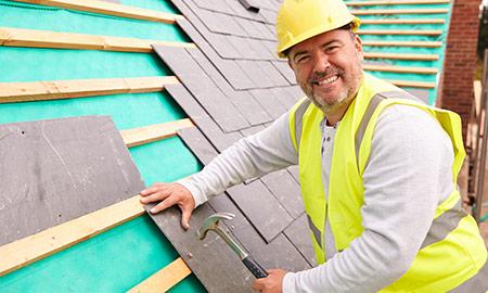 leien dakbedekking plaatsen